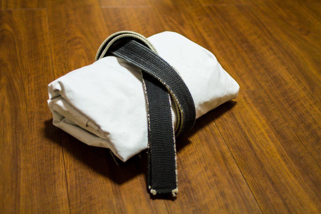 Black Belt von alten Meister
