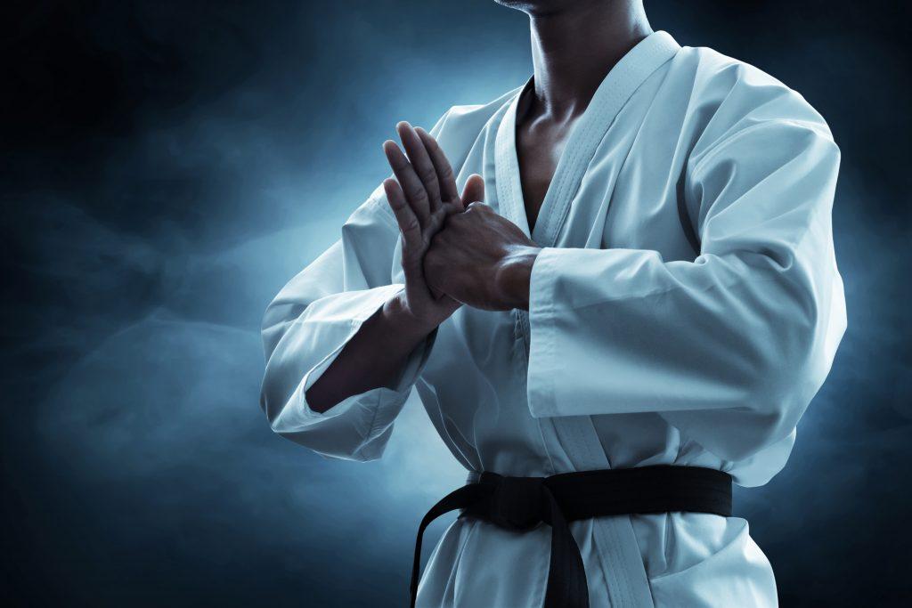 Karate und Atmung